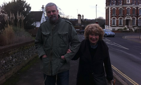 Paul James and Shirley Collins